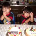 DSCF9060ルキの誕生日